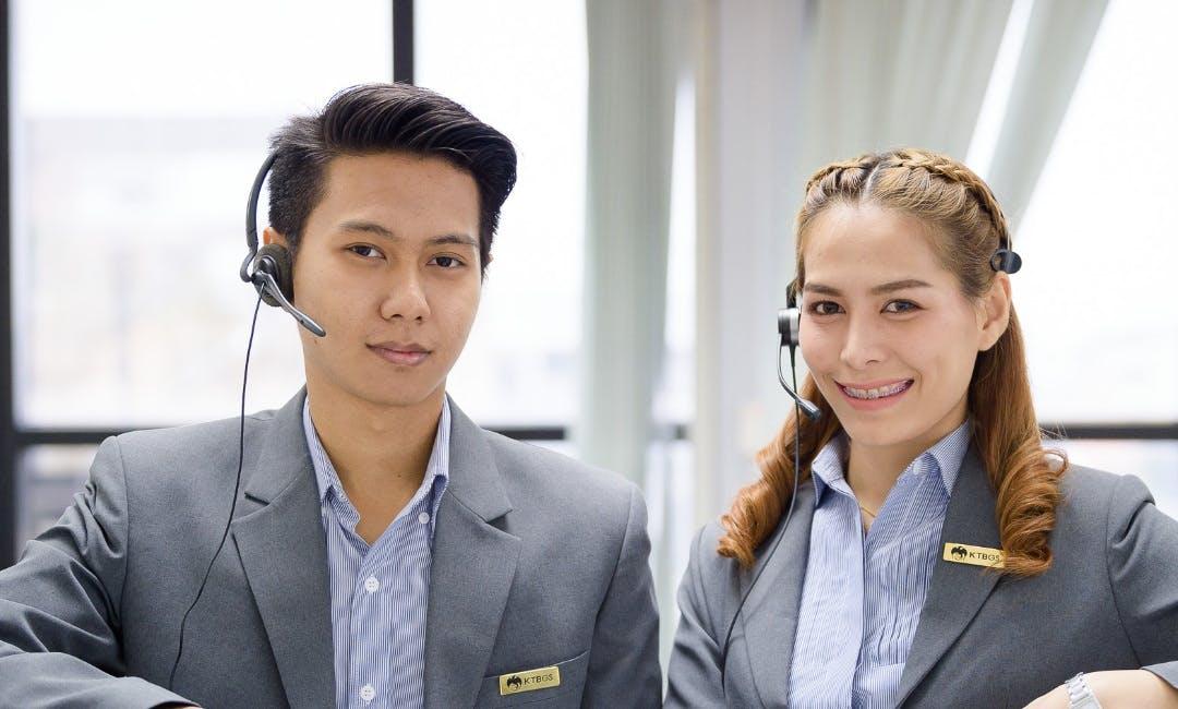 Call Center ธนาคารกรุงไทย