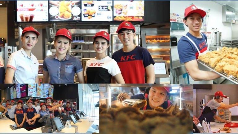 พนักงานร้านKFC