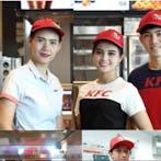 แม่บ้านKFC โลตัสพระราม4