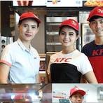 พนักงาน KFC  โลตัสอ่อนนุช80