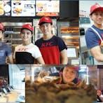 พนักงานร้านKFC ซีคอนชั้น2