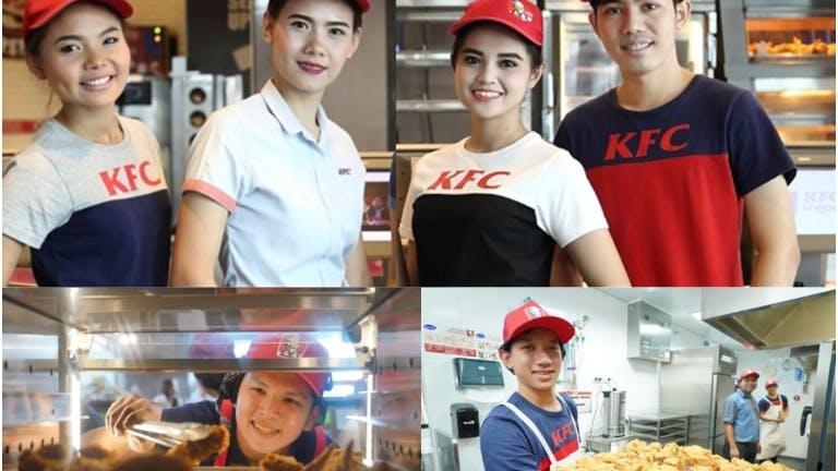 พนักงานKFC ตึกยูไนเต็ด(สีลม)