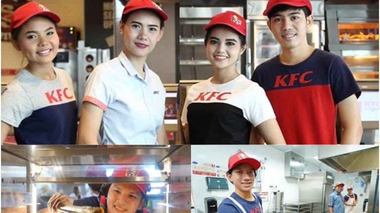 พนักงานKFC โซนพระราม2