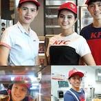 พนักงานKFC โซน งามวงศ์วาน