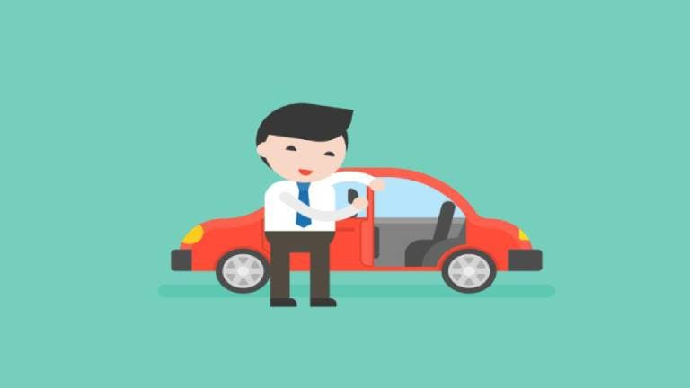 ผู้ดูแลรถยนต์ (Car Assistant)